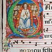 Anonymous Sienese Painter, Proprio Dei Art Print by Everett