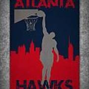Atlanta Hawks Art Print