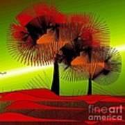 Autumn Colours Art Print by Iris Gelbart