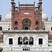 Badshahi Mosque In Lahore Pakistan Art Print