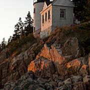 Bass Harbor Head Lighthouse Art Print