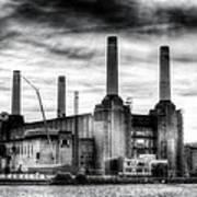 Battersea Power Station London Art Print
