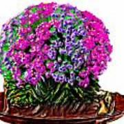 Beautiful Arrangement Of Flowers Art Print
