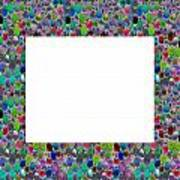 Border Frames Square Buy Any Faa Produt Or Download For Self-printing  Navin Joshi Rights Managed Im Art Print