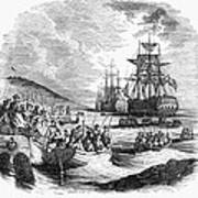 Boston: Evacuation, 1776 Art Print