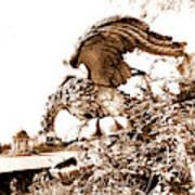 Campania Caserta Carditello Plazzo Reale Art Print