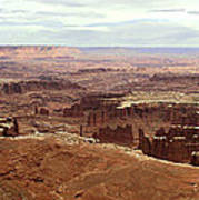 Canyonlands National Park In Utah Art Print