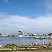 Cardiff Bay Panorama Art Print