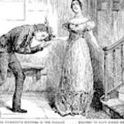 Dickens Martin Chuzzlewit Art Print