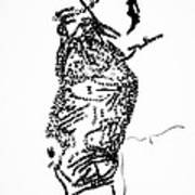 Dinka Corset - Manlual - South Sudan Art Print