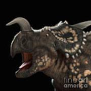 Dinosaur Einiosaurus Art Print