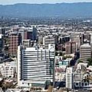 Downtown San Jose California Art Print