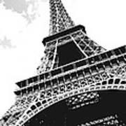 Eiffel Tower Print by Elena Elisseeva