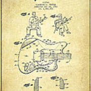 Fender Guitar Patent Drawing From 1960 Art Print by Aged Pixel