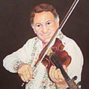 Gypsy Fiddler Art Print