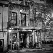 Historic Houston Black And White Art Print