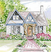 House Rendering Art Print
