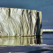 Iceberg In The Ross Sea Antarctica Art Print