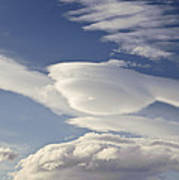 Lenticular Clouds Art Print