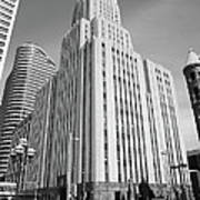 Minneapolis Skyscrapers Art Print