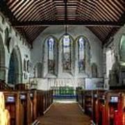 Minster Abbey Art Print