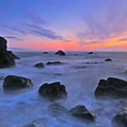 Muir Beach Sunset Art Print