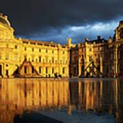 Musee Du Louvre Art Print by Brian Jannsen