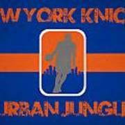 New York Knicks Art Print by Joe Hamilton