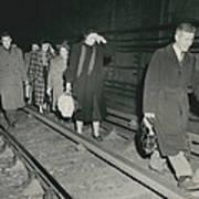 Nine Dead In Tube Disaster Art Print