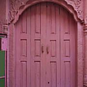 Old Doors India, Varanasi Art Print