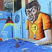 5 Pointz Graffiti Art 5 Art Print