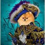 Pomeranian Art Canvas Print Art Print