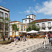 Ponta Delgada Art Print