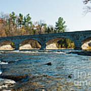 5-span Bridge Art Print