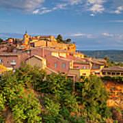 Sunrise Over Roussillon Art Print
