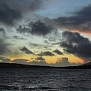 Sunset In Dingle Art Print