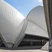 Sydney Opera House Detail In Australia  Art Print
