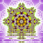 The Kaleidoscope Reflections Art Print