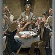 5. The Last Supper / From The Passion Of Christ - A Gay Vision Art Print by Douglas Blanchard