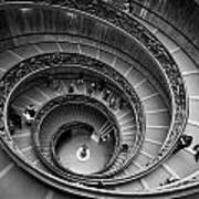 The Vatican Stairs Art Print