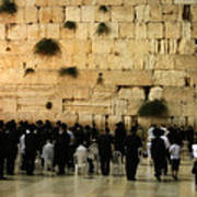 The Wailing Wall Art Print