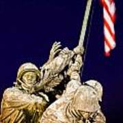 Us Marine Corps Memorial Art Print