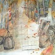 Van Gogh My Way Album Art Print