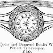 Watch Bracelet, 1891 Art Print