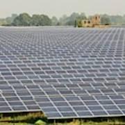 Wymeswold Solar Farm Art Print