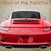 50 Years Of The Porsche 911 E182 Art Print