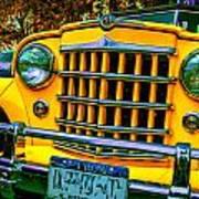 51 Jeepster Art Print