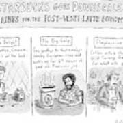 New Yorker April 14th, 2008 Art Print