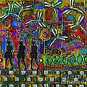 525 600 Minutes - Color Art Print