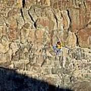 Rock Climb Art Print